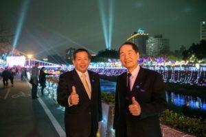 盼日台双方交流更多元香川知事偕访团参与桃园灯会