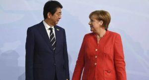 快讯:安倍称将基于情报保护协定推进日德防卫合作