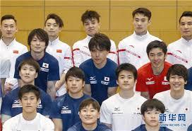 中日体操男队东京合训 互相学习备战奥运会