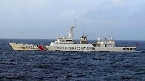 中国海警船一度驶入尖阁领海 为今年第5天
