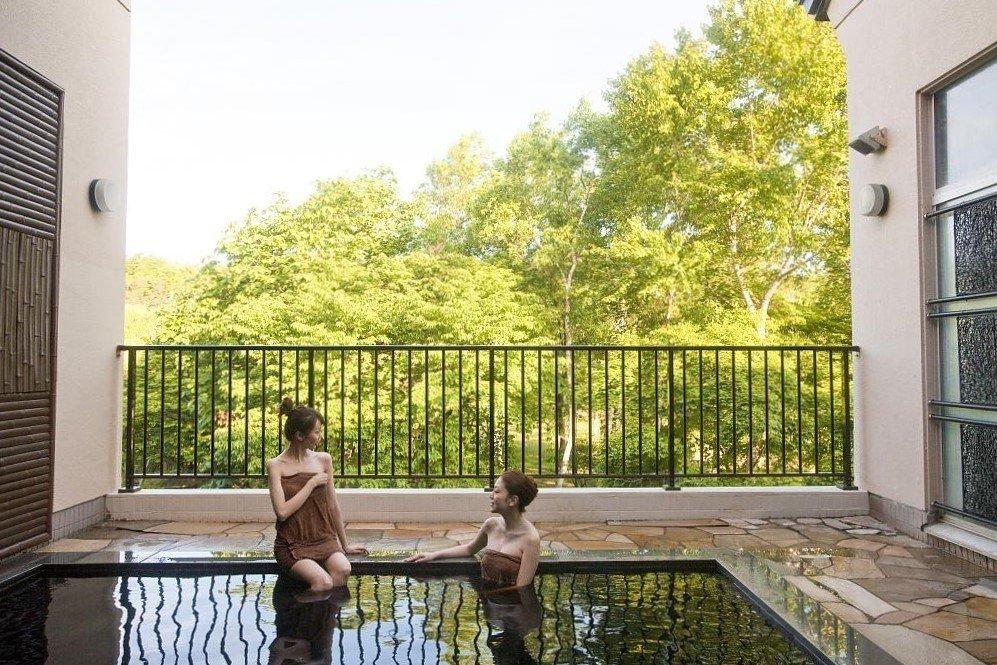 札幌近郊-惠庭景点 天然Moor温泉美人汤