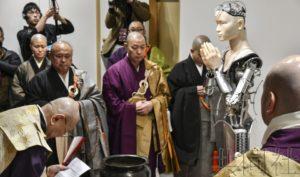 日本高台寺推出智能观音 提高民众对佛教的兴趣