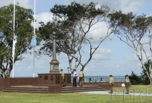 澳达尔文举行日军空袭77周年悼念仪式