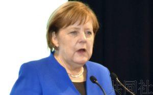 默克尔称日德有很多共同点 将加强对日合作