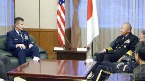 驻日美军新司令与统合幕僚长会谈 双方将深化同盟关系