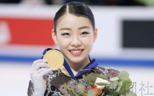 纪平梨花在四大洲花滑锦标赛首次夺冠