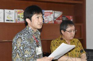 东日本地震灾区政府职员赴印尼分享灾后重建经验