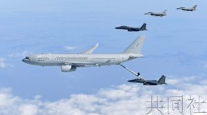 韩国空军首次实战部署空中加油机