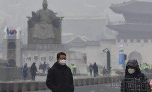 韩国称大气污染物质75%来自国外 拟与日中共商对策