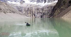 一日本游客在智利国家公园违规划船被驱逐