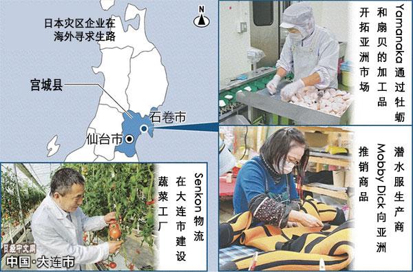日本灾区企业在亚洲市场寻求生路