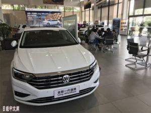 中国1~2月新车销量下降14.9%