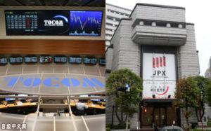 日本交易所集团与东京商品交易所达成合并协议