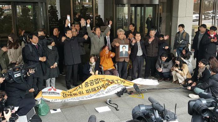韩国原劳工诉讼原告方将申请冻结三菱重工专利