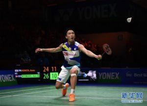 德国公开赛:日本选手桃田贤斗晋级男单决赛