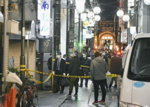 日本大阪闹区枪击案2人重伤观光客难置信