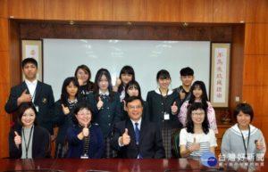 日本小松市青少年访建国科大自制煎饺、珍珠奶茶做交流