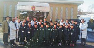 我省首次与北海道开展足球交流活动