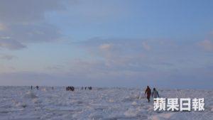 北海道知床无边际流冰漫步