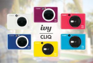 Canon首款拍立得IVY CLIQ发表挑战Fujifilm地位