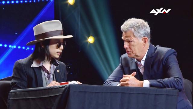 亚洲达人秀-日本魔术师高桥匠超秀纸牌魔术当面吓到评委