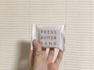PRESS BUTTER SAND焦糖奶油夹心饼
