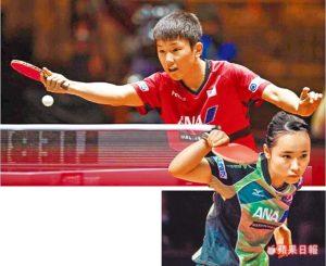 桌球•神童张本智和让中国胆寒