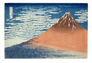 浮世绘大师葛饰北斋经典版画作品拍卖 高价成交