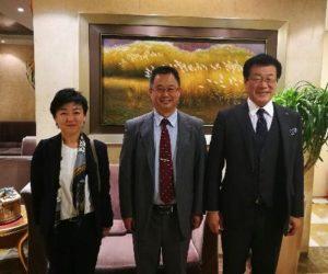 日本YIC集团来威考察对接合作