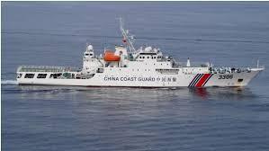 中国海警船一度驶入尖阁领海 为今年第8天