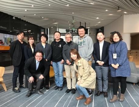 日本博报堂媒体研究所来原本区块链访问交流