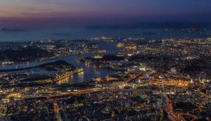 【八幡东区】「百亿夜景」就在皿仓山