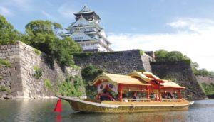 用另一种角度欣赏大阪城:「大阪城御座船」