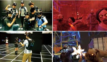 体验最高科技的娱乐享受:「SEGA VR AREA ABENO」