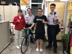 日本学生游台南失窃单车员警6小时马上找回
