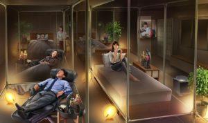 美好的午觉!东京「睡眠咖啡馆」想休息就躺着睡吧