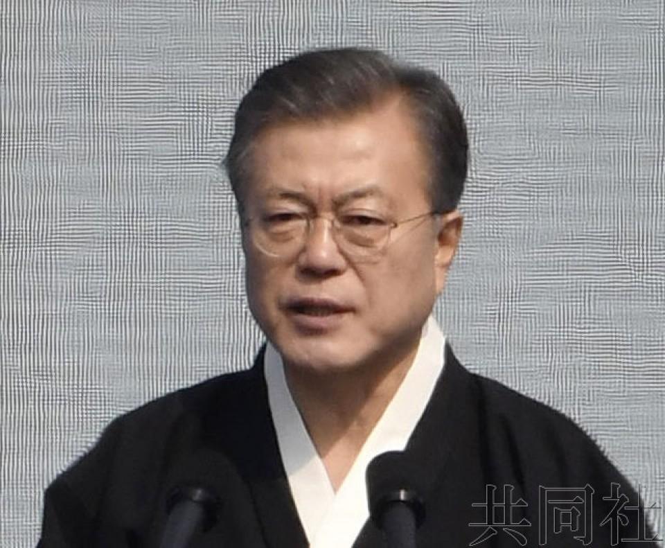 详讯:韩国总统文在寅强调为了和平将与日本加强合作