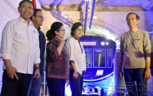 日本援建的印尼首条地铁开通 有望缓解雅加达拥堵