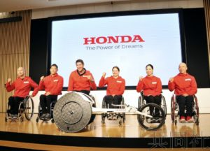 本田4月将发售用于田径赛的新款轮椅