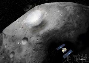 """""""隼鸟2号""""将制造人造陨石坑 同时拍摄碰撞瞬间"""