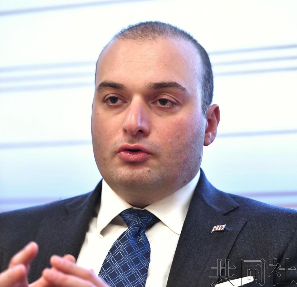专访:格鲁吉亚总理期待日本投资 称入欧改革进展顺利