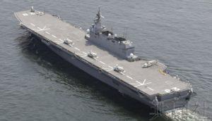 """日防卫相称美军机可在""""出云""""号上加油及维护"""