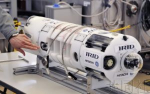 IRID展示调查福岛一核1号机组内部的6种机器人
