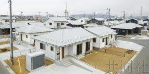 宫城县内灾害公营住宅全部竣工