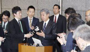 日本政府开始向边野古沿岸新区域投入沙土
