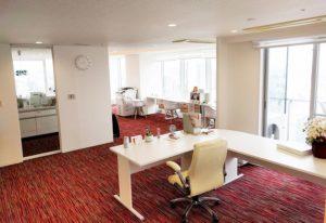 ゆったり空間で住居&オフィスに最適~東京タイムズタワー26F角部屋~