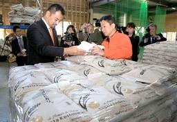 新潟县产越光米开始向迪拜出口