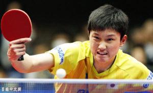 日本乒乓选手迎战中国:比赛中就想回去了