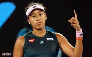 大坂直美蝉联女子网球世界排名第1