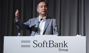 日本软银总裁孙正义投资比特币亏损1.3亿美元